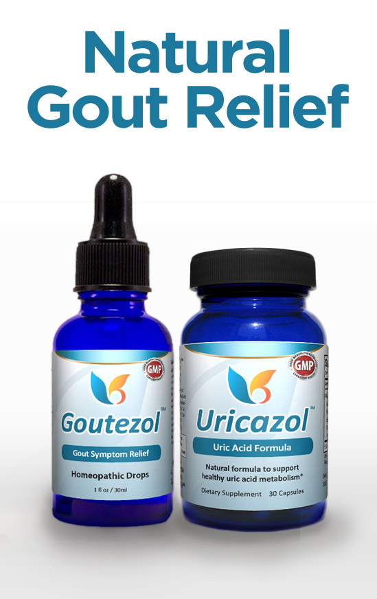 All-Natural Gout Relief - Goutezol: Relief for Gout