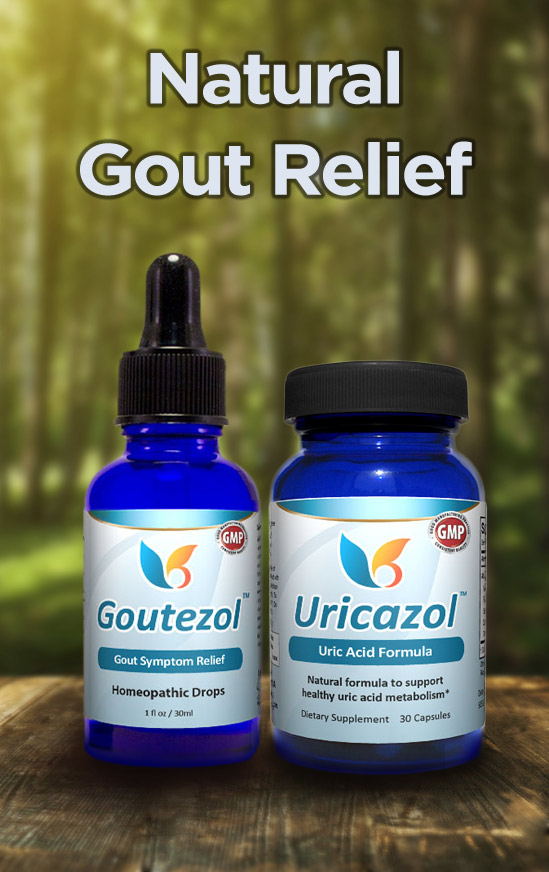 All-Natural Gout Relief - All-Natural Relief for High Uric Acid