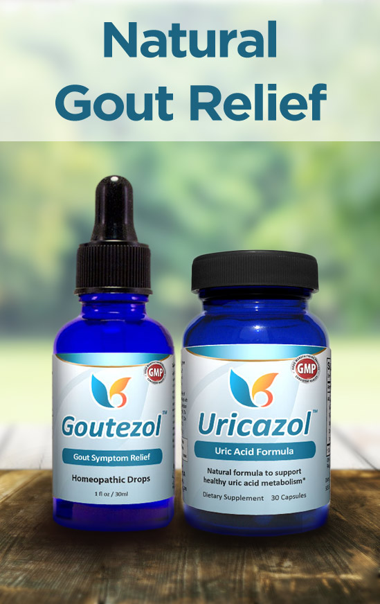 Natural Gout Relief - All-Natural Relief for High Uric Acid