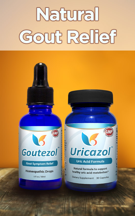 Natural Gout Relief - Natural Relief for High Uric Acid