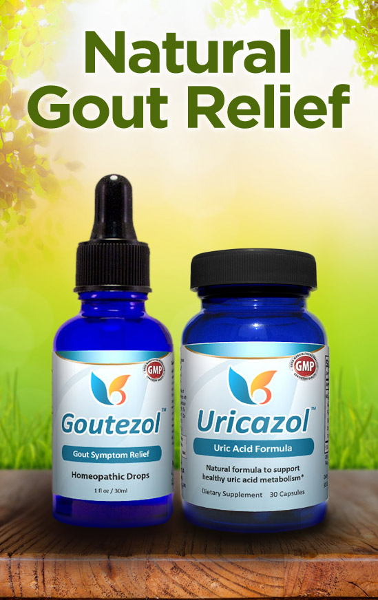All-Natural Gout Relief - Goutezol - Natural Relief for High Uric Acid