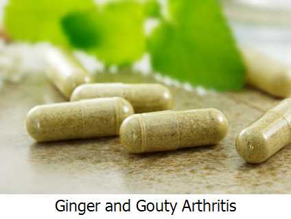 Ginger and Gouty Arthritis