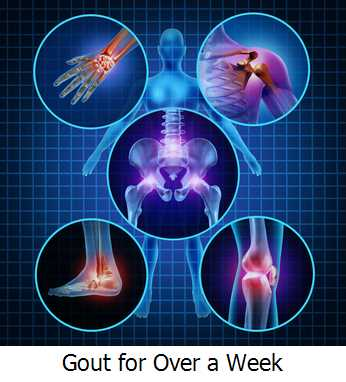 Gout for Over a Week