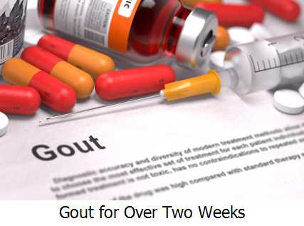 Gout for Over Two Weeks